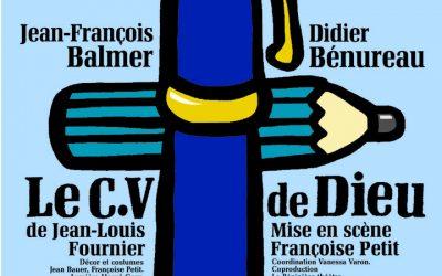 «Le CV de Dieu» au théâtre de la Pépinière