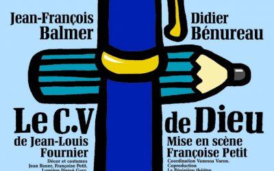 """""""Le CV de Dieu"""", Théâtre de la Pépinière"""